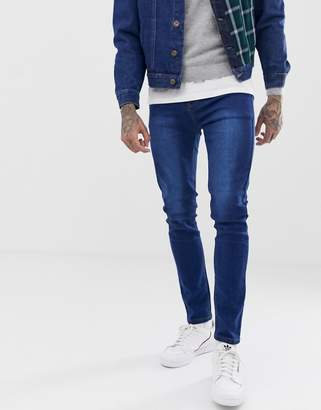 9a49e5a5b32 N. Liquor Poker skinny jeans with patch work pocket
