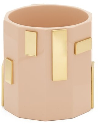 Objet Singulier - Plaque Embellished Cuff - Womens - Pink
