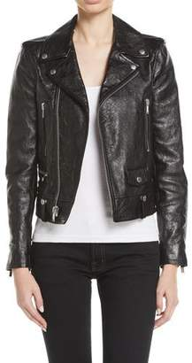 2b2c4ce1ff3 Saint Laurent Women's Leather Jackets - ShopStyle