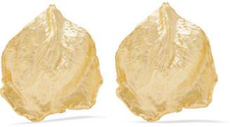 Sebastian SARAH & Rosa Gold Vermeil Earrings