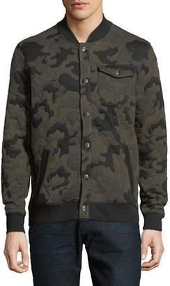 Calvin Klein Jeans Camouflage Baseball Jacket