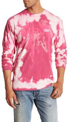 Obey Jumble Lo-Fi Tie Dye Long Sleeve Shirt