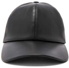 Buscemi Leather Baseball Cap