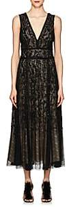 J. Mendel Women's Embellished Silk Cocktail Gown - Black