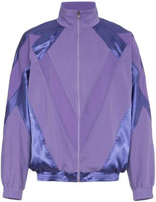 Willy Chavarria Purple Hustler Jacket