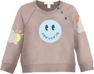 Burberry Smiley Face Sweatshirt