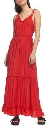 Whistles Tassel Tie Maxi Dress