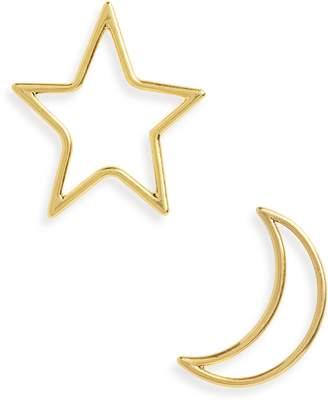 Madewell Star & Moon Statement Earrings