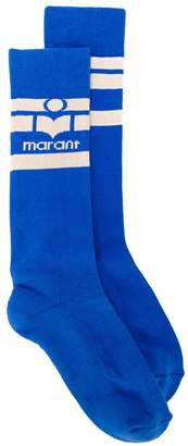 Isabel Marant logo knitted socks