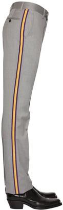 Calvin Klein Super 100's Wool Gabardine Pants