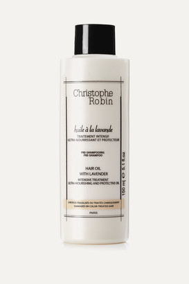 Christophe Robin Moisturizing Hair Oil With Lavender, 150ml - Colorless