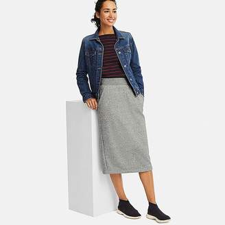 Uniqlo Women's Pile-lined Sweat Skirt