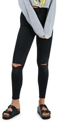 Topshop Washed Joni Jeans 32-Inch Leg