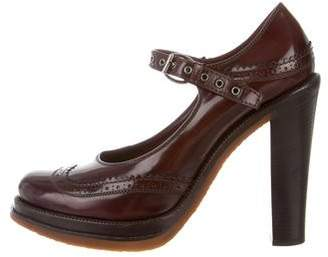 Louis Vuitton Platform Oxford Pumps
