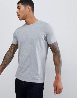 HUGO Dolive-U large logo t-shirt in gray