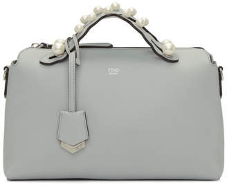 Fendi Grey Medium Pearl By The Way Bag