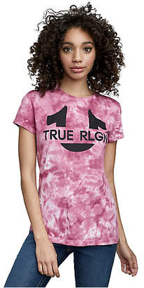 True Religion Horseshoe Tie Dye Crew Neck Tee
