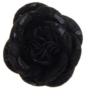 hook + ALBERT Steam Coated Leather Lapel Flower