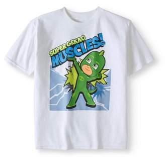 PJ Masks Boys' Super Gekko Muscles T-Shirt