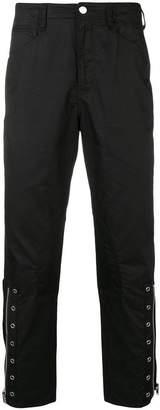John Undercover zip leg slim trousers