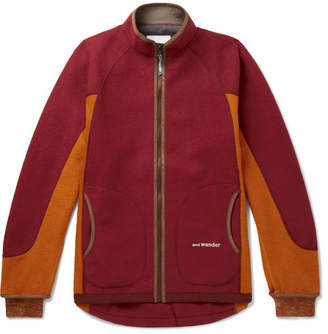 And Wander - Air Wool-blend Jacket - Red