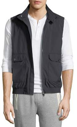 Moncler Men's Simple Vest w/ Pockets