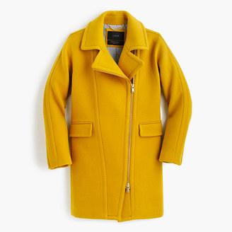 Petite zippered coat in stadium-cloth $365 thestylecure.com