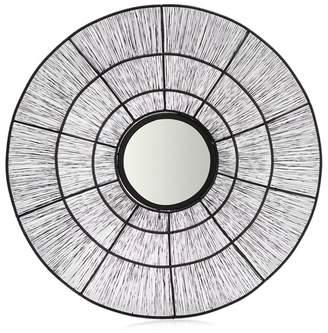 Debenhams Black Wire Round Mirror