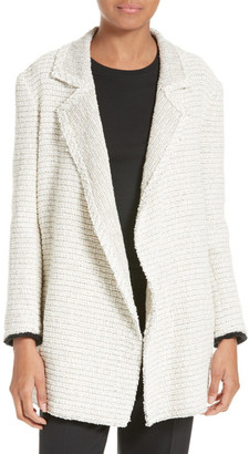 Theory Clairene Woven Jacket $495 thestylecure.com