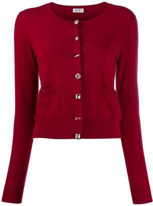 Liu Jo embellished slim-fit cardigan