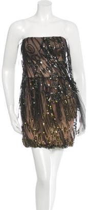 Vera Wang Silk Sequined Dress $155 thestylecure.com