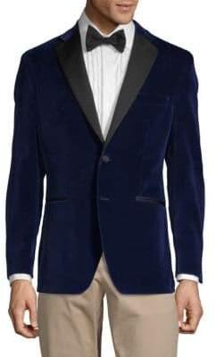 Saks Fifth Avenue Classic Velvet Sportcoat