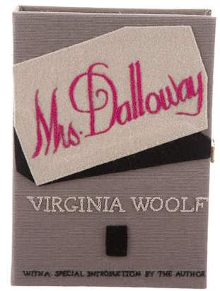 Olympia Le-Tan Mrs. Dalloway Book Clutch