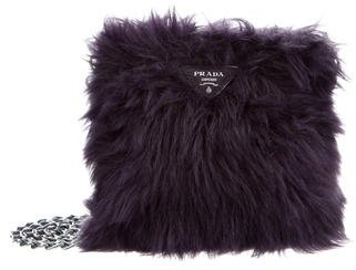 prada Prada Eco Pelliccia Crossbody Bag