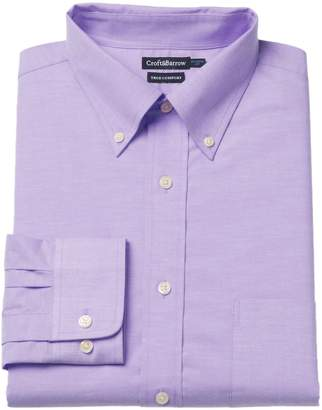 Croft & Barrow Men's Easy-Care True Comfort Slim-Fit Stretch Dress Shirt