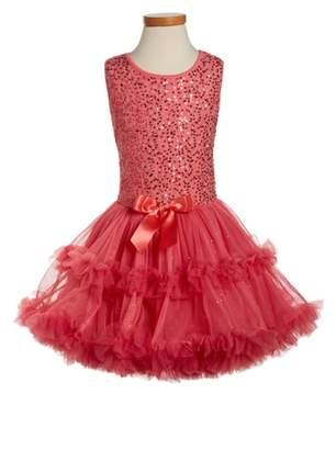 Popatu Sequin Sleeveless Dress