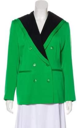 Kenzo Wool Double-Breasted Blazer
