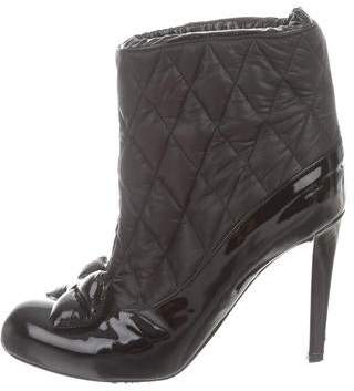 Viktor & Rolf Bow-Accented Ankle Boots