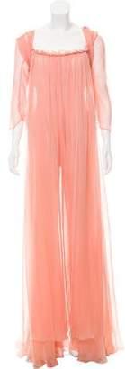 Max Mara Silk Maxi Dress Set w/ Tags