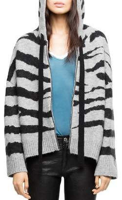 Zadig & Voltaire Lennox Hooded Cardigan