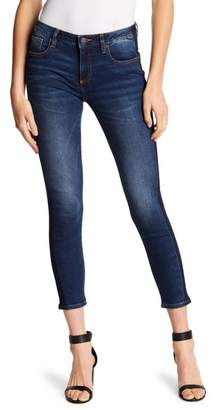 Miss Me Side Stripe Ankle Skinny Jeans