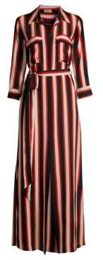 L'Agence Cameron Cabana Stripe Shirtdress