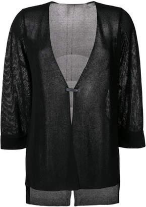 Le Tricot Perugia deep V-neck cardigan