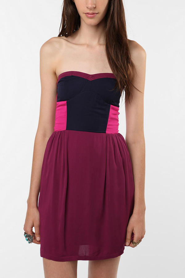 Sparkle & Fade Colorblock Dress