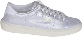 Golden Goose Glittered Low-cut Superstar Sneakers