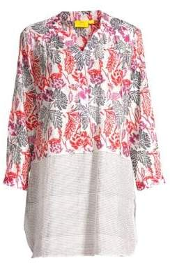 Roller Rabbit Thao Romy Cotton& Silk Tunic