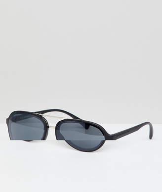 A. J. Morgan Aj Morgan AJ Morgan aviator sunglasses in matte black