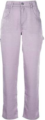 CALLIPYGIAN high-waisted slim-fit trousers