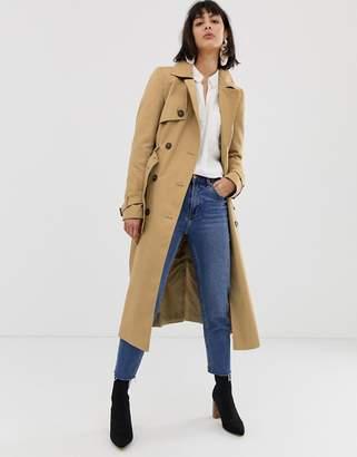 Asos DESIGN longline classic trench coat