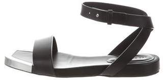 See by Chloe Plated Leather Sandals
